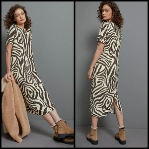 🆕 Corey Lynn Calter animal print dress 2X